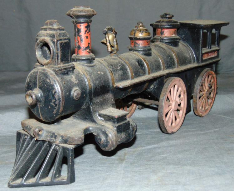 Nycrr Cast Iron Train: Large Size Ives Cast Iron Train Set, TLC