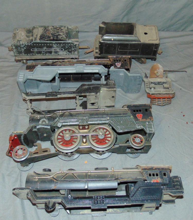 Lionel Train Parts : Lionel e locomotive tender parts