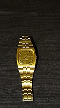 Omega Constellation 18 kt Yellow Gents Watch.