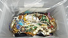 Klondike Lot of Costume Jewelry.