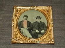 Civil War Era Tintype, 2 Men