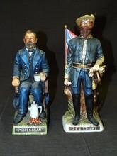 Ulysses S. Grant & J.E.B. Stuart Decanters