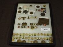 Lot of Assorted Presidential Pins, Tokens, Etc