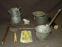 Lot of Assorted Civil War Era Soldier Items