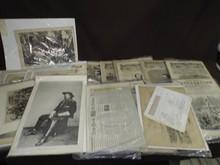 Lot of Civil War Related Paper Ephemera