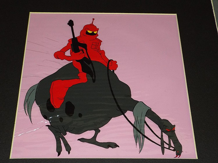 Ralph Bakshi. Animation Cel. Peace.
