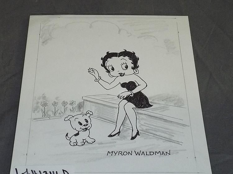 Myron Waldman Original Cartoon Art