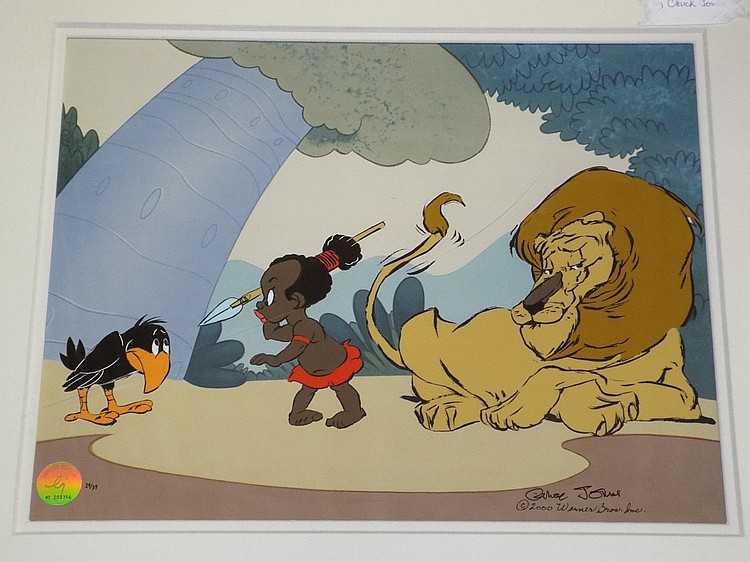Chuck Jones Ltd Ed Cel, Little Lion Hunter