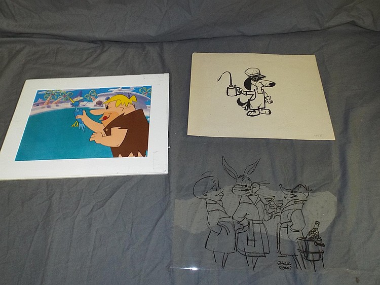 3 Piece Animation Lot