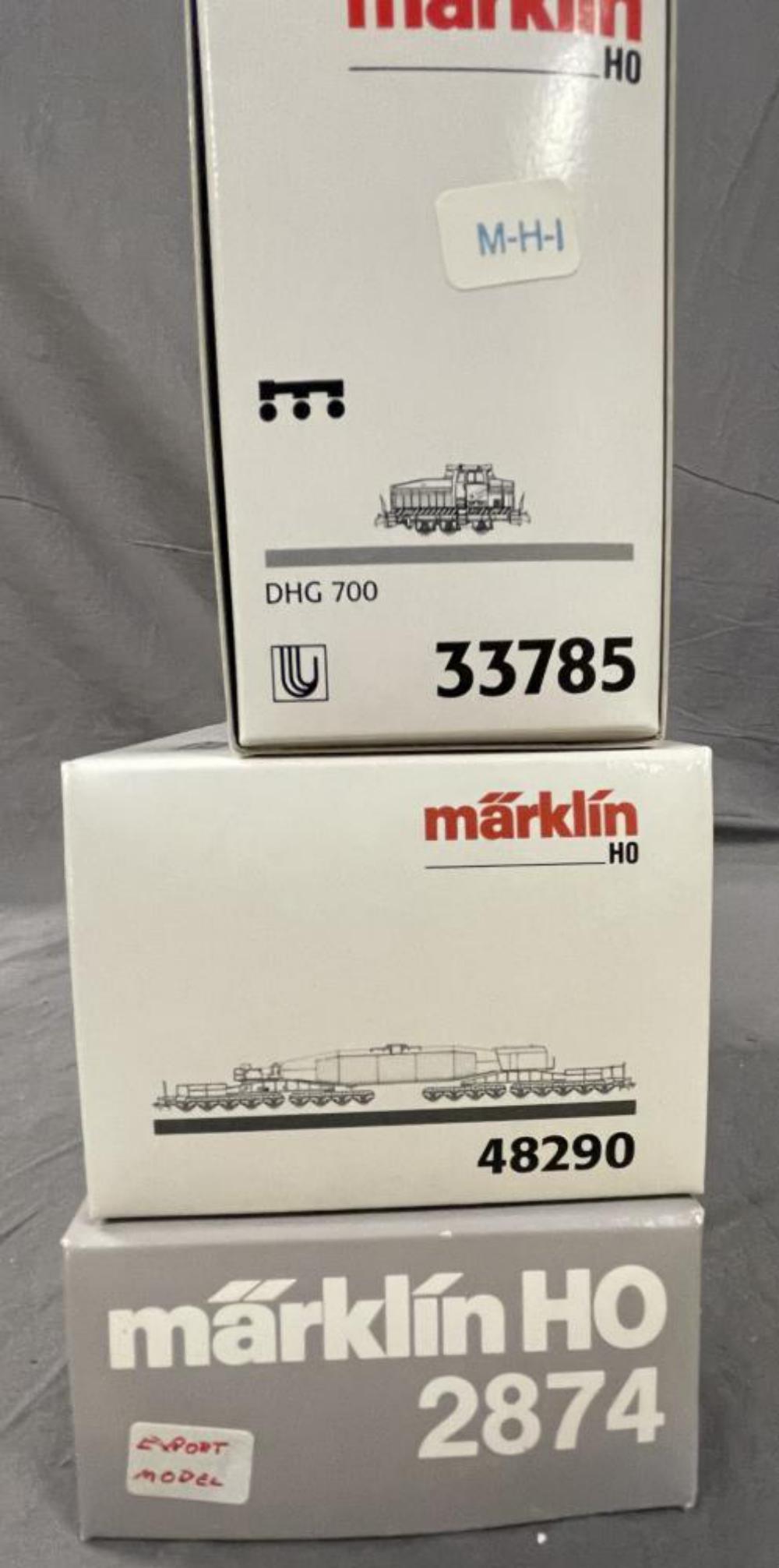 2 Marklin HO Short Sets