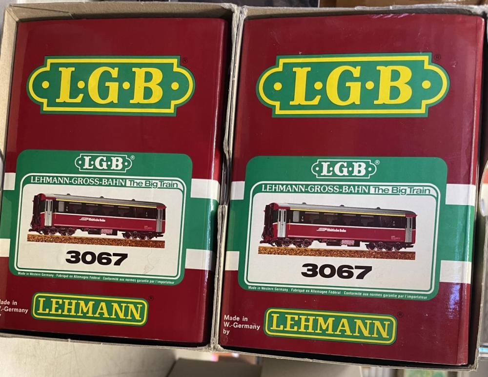 2 LGB G Ga 3067 DB Express Pullmans