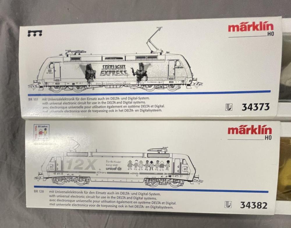 2 Marklin HO Electric Locomotives