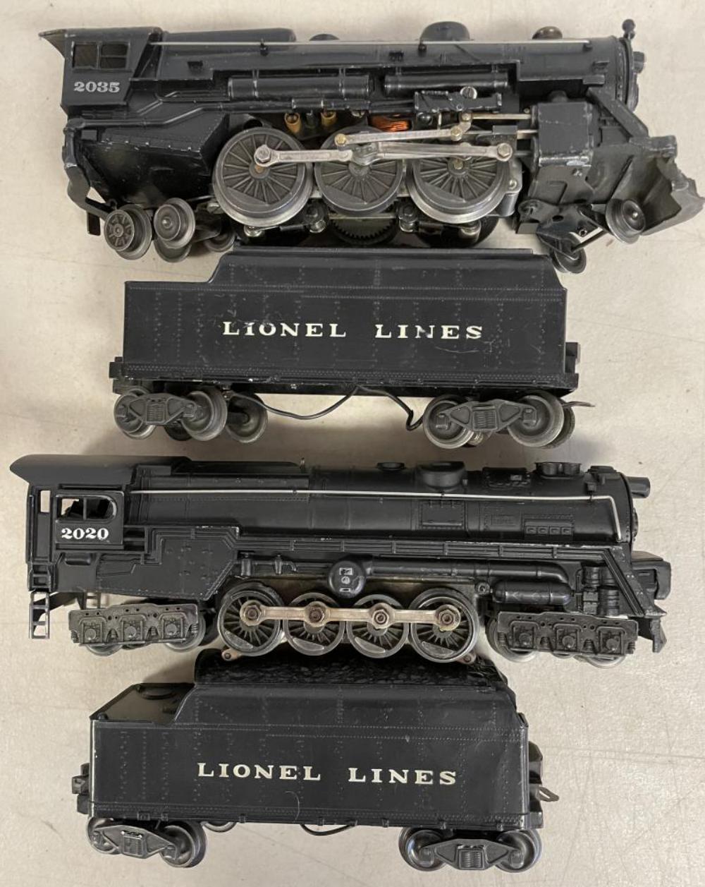 2 Redone Lionel Steam Locos