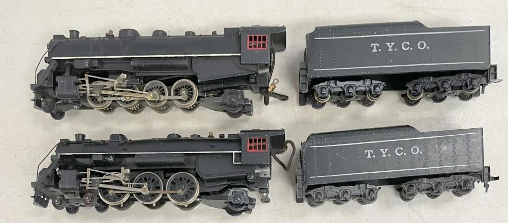 2 Early Tyco Mantua HO Steam Locomotives