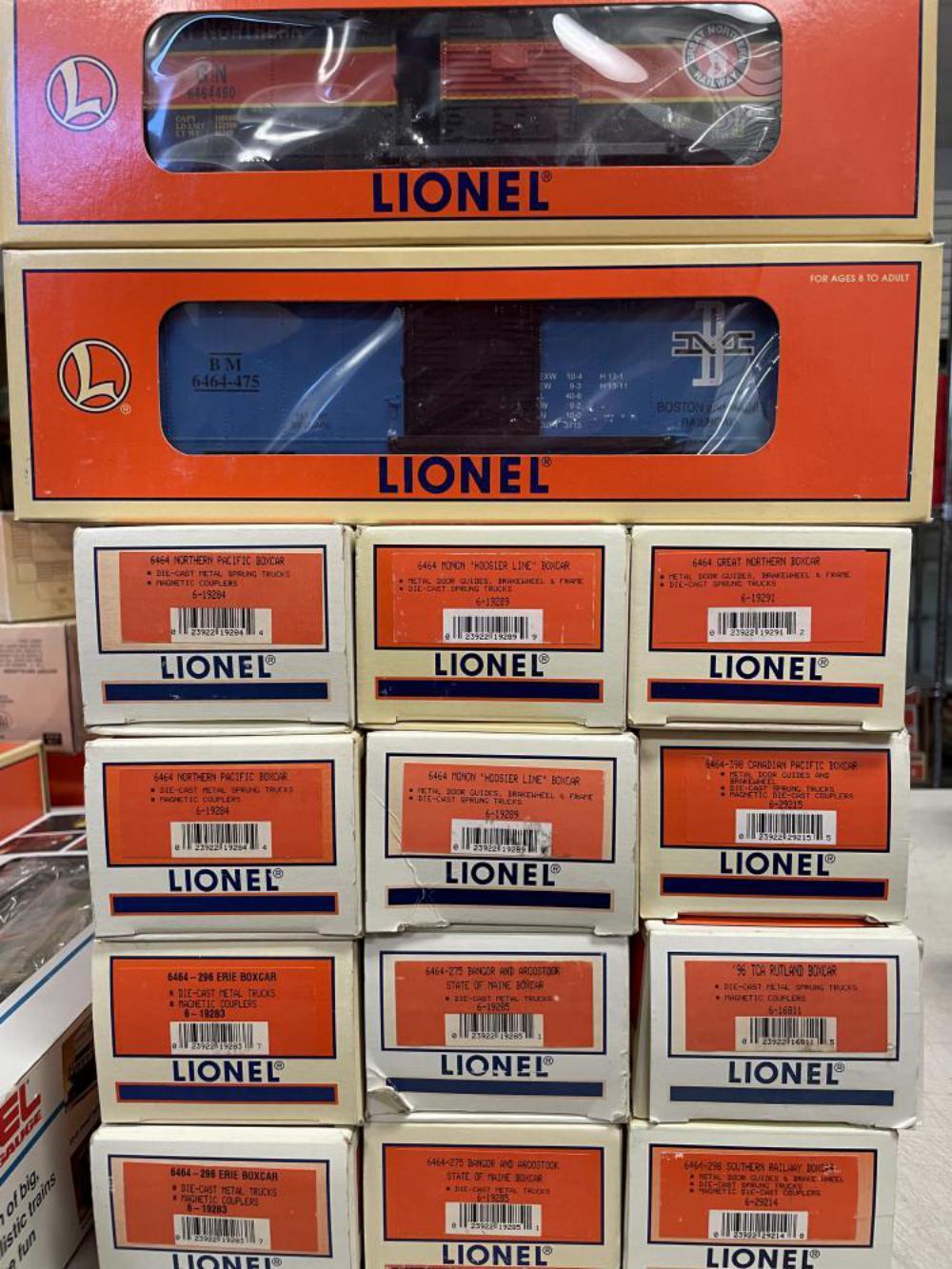 14 Lionel 6464 Boxcars