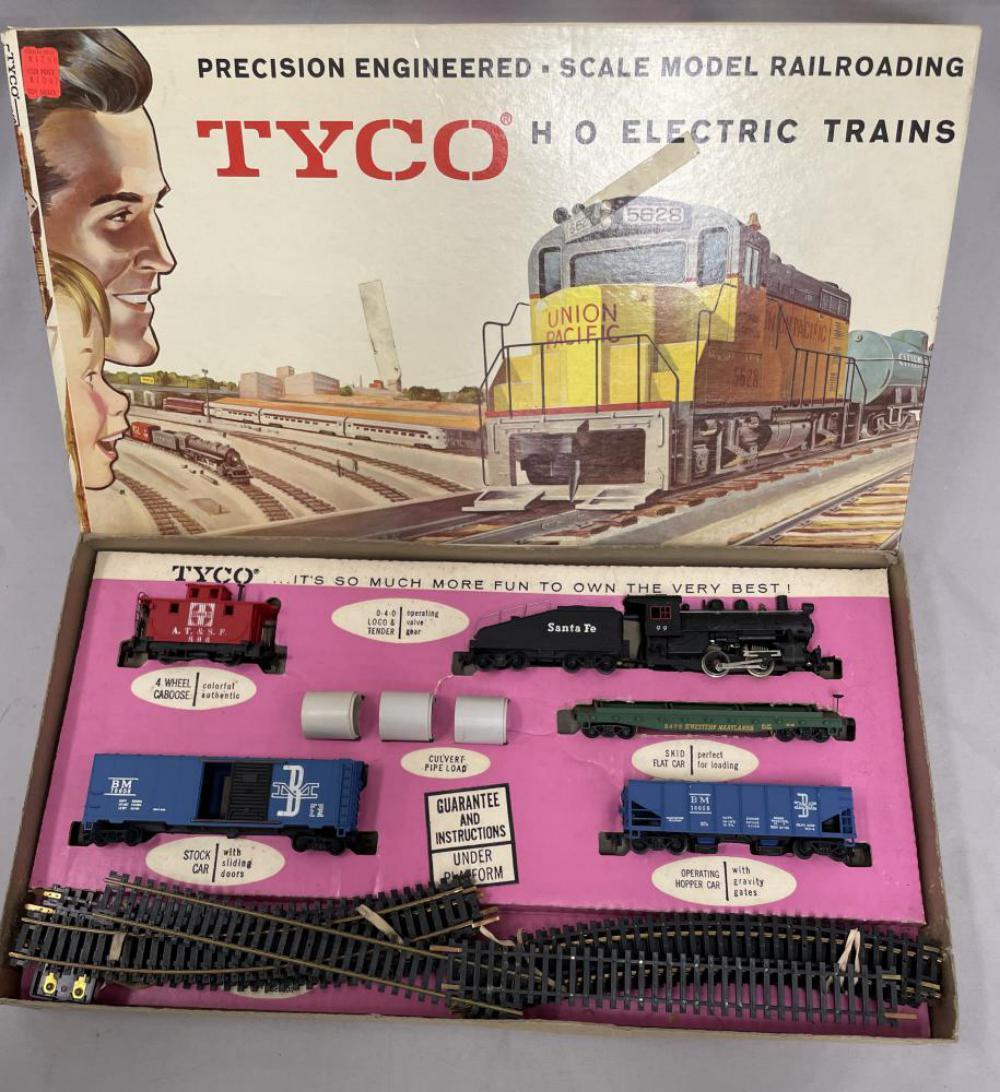 Boxed Mantua Tyco HO Yard Beaver Set T6501:1298