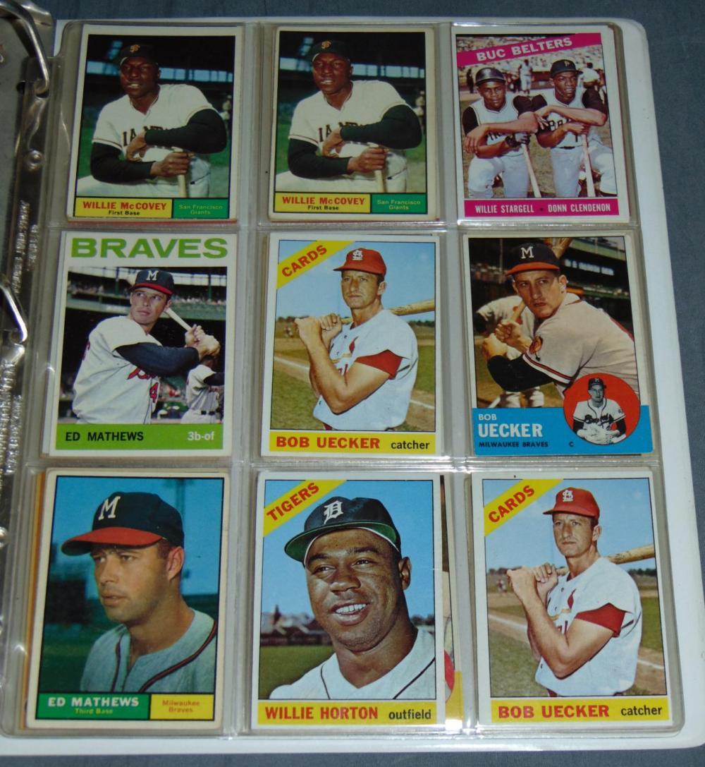 332 1959 1969 Baseball Cards
