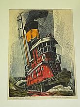 Woldemar Neufeld, Signed Woodblock Print