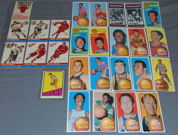 Basketball and Hockey Card.