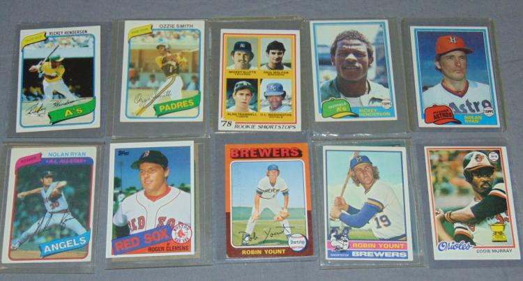 Baseball Card Lot.