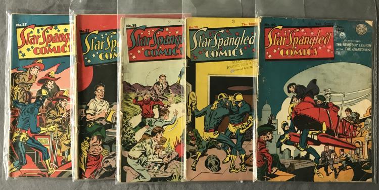 Star Spangled Comics. 5 Issues.