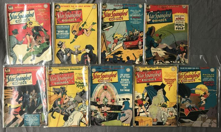 Star Spangled Comics (9) issues.