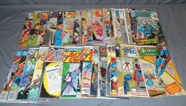DC Silver Age Action Comics Lot