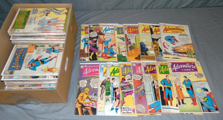 DC Silver Age Adventure Comics Lot 265-Up