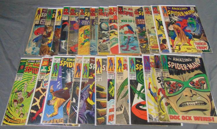 Marvel Silver Age Amazing Spider-Man Lot