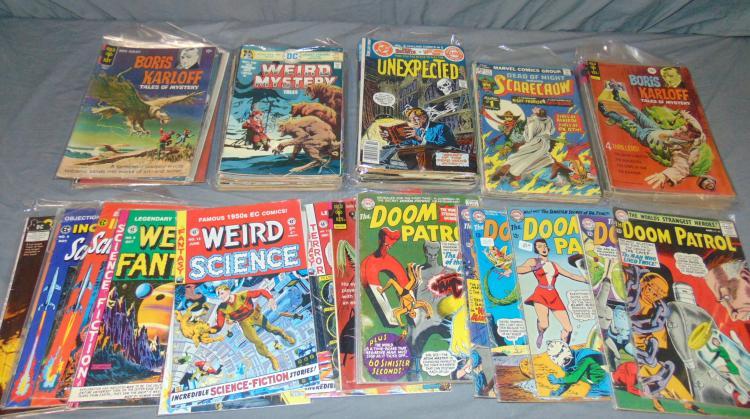 Mixed Comic Lot.
