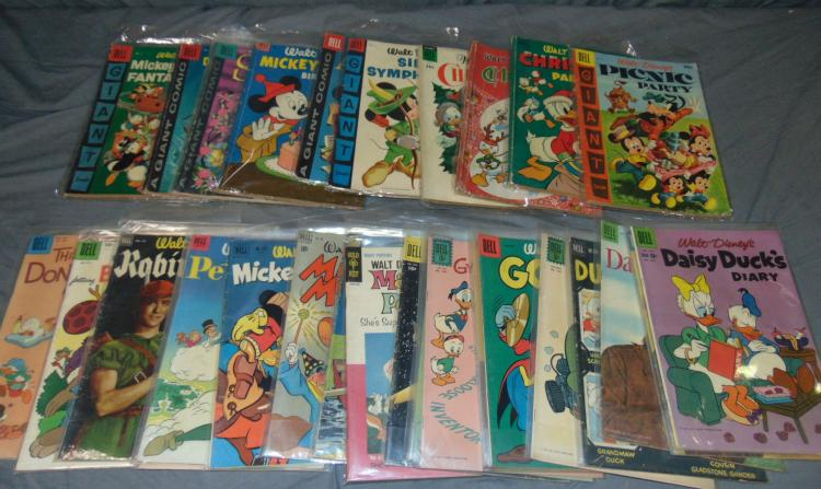 Disney Comic Lot.
