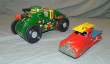 2 Piece Windup Toy Vehicle Lot