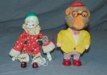 2 Piece Windup Toy Lot