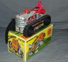 Boxed Marx Windup Climbing Tractor