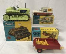 3 Boxed Corgi Vehicles
