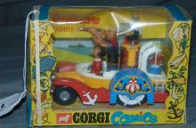 Boxed Corgi 802 Popeye Paddle-Wagon