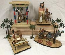 Egyptian Figure Lot.