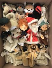 Steiff Hand Puppet Lot.