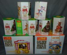 Steiff Golden Age of Circus Lot, Boxed