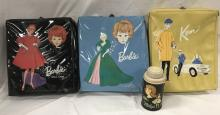 Vintage Barbie Doll & Case Lot
