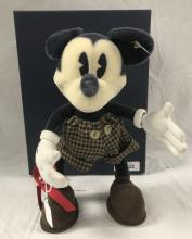 Steiff Mickey Mouse.