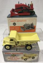 2 Boxed Dinky Construction Vehicles