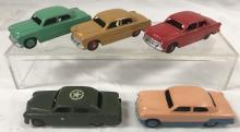 5 Variations Dinky 170 Ford Fourdoor