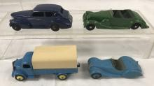 4 Early Dinky Vehicles