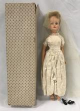 Rare 1962 Ideal Jackie Kennedy Doll in Orig Box