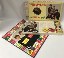 1964 Beatles Flip Your Wig Board Game