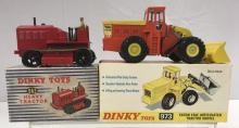 Boxed Dinky 973 & 963 Construction Vehicles