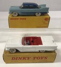 2 Boxed Dinky American Cars, FR555 & 178