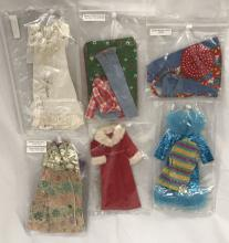 (7) 1970's Barbie Doll Outfits