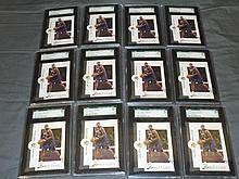 Vince Carter SGC Graded Investment Lot.